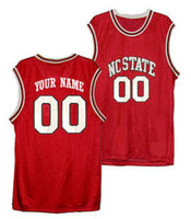 Customizable North Carolina State Wolfpack College Style Basketball Jersey