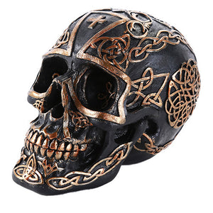 11446 CELTIC CROSS SKULL