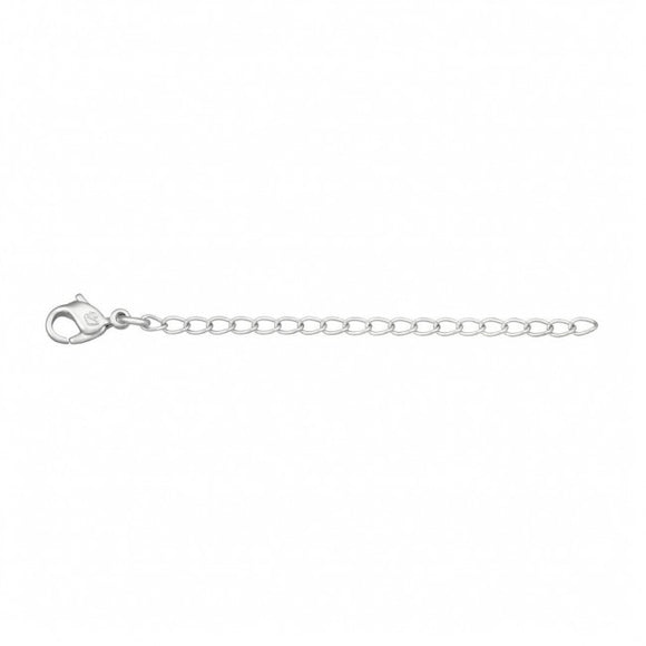 Swarovski Extension Chain, Rhodium Plated, 8 cm 5000356