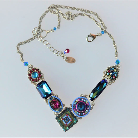 Jewelry Designs Necklace - 8411 Bermuda Blue - LA DOLCE VITA