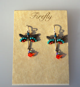 Firefly Jewelry Dragon fly earring - 6625MC