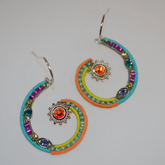 Firefly Jewelry earring - 6782 Multi Color