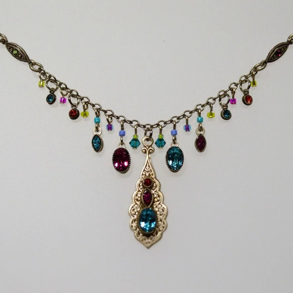 Firefly Jewelry necklace - 8657 Multi Color - Botanical Collection