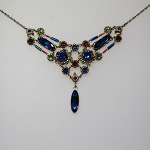 Firefly Jewelry necklace - 8743 Bermuda Blue Color - Brilliant Collection