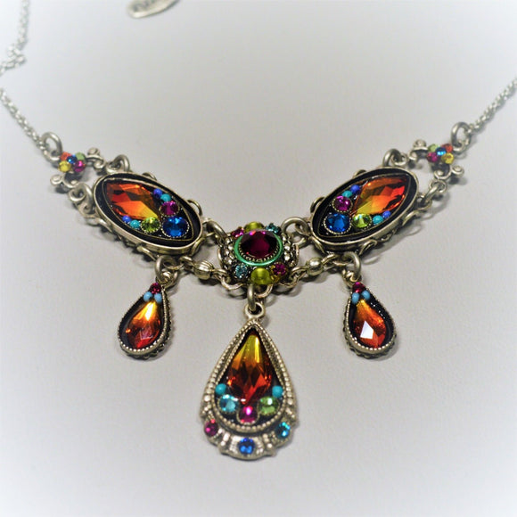 Firefly Jewelry necklace - 8844 Multi Color - Emma Collection