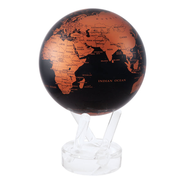 MOVA BLACK AND COPPER GLOBE 4.5
