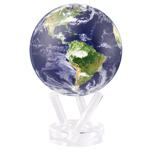"EARTH WITH CLOUDS 6"" MOVA GLOBE"