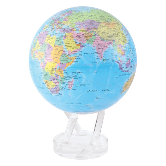 MOVA POLITICAL MAP BLUE GLOBE 8.5