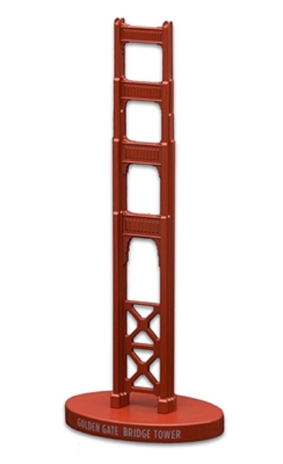 Golden Gate Bridge Tower Model Orange