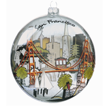 The City Glass Ornament
