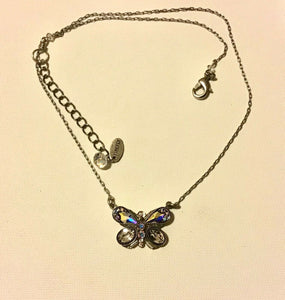 FIREFLY JEWELRY 8838SIL Necklace aurora borealis Color New