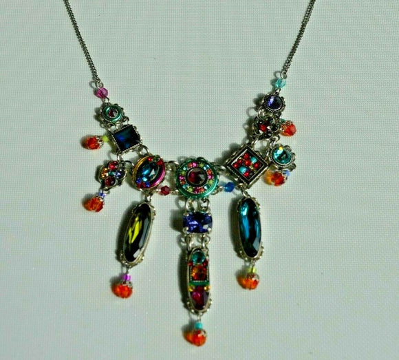 FIREFLY JEWELRY 8906 MC Necklace Multi Color New