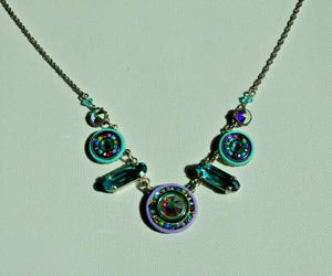 FIREFLY JEWELRY 8506-Soft Necklace Multi Color New