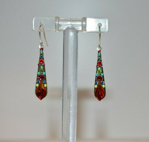 FIREFLY JEWELRY 7848MC EARRING Multi COLOR New Silver Wire