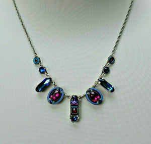 FIREFLY JEWELRY 8685BB Necklace Blue COLOR New