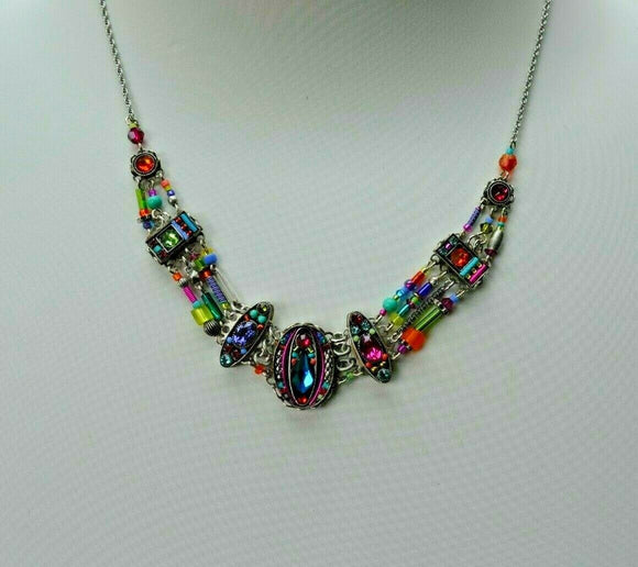FIREFLY JEWELRY 8864MC Multi color Necklace New