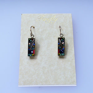 FIREFLY JEWELRY 7572SOFT EARRING Blue COLOR New Silver Wire