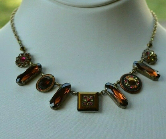 FIREFLY JEWELRY 8299 Smoked Topaz Necklace retired piece clearance sale