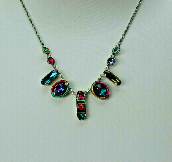FIREFLY JEWELRY 8685MC Necklace Multi COLOR New