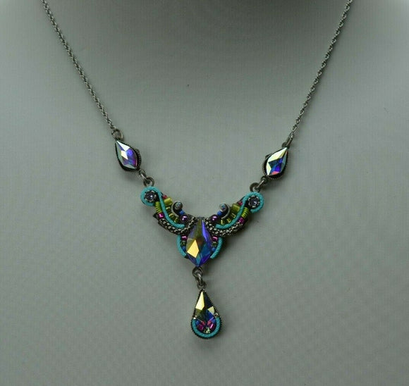 FIREFLY JEWELRY 8814Soft Necklace Multi Color New