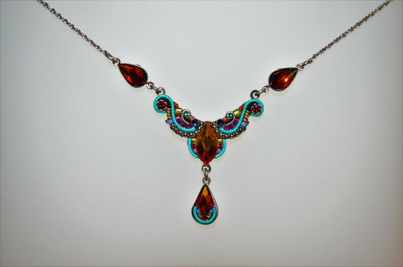 FIREFLY JEWELRY 8814MC Necklace Multi Color New