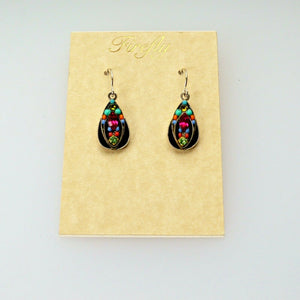 FIREFLY JEWELRY 7163 Multi color Earring New Silver Wire