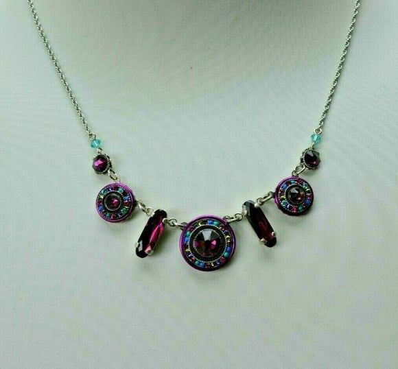 FIREFLY JEWELRY 8506A Necklace Blue Amethyst COLOR New