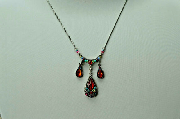 FIREFLY JEWELRY 8869MC Necklace Multi COLOR New