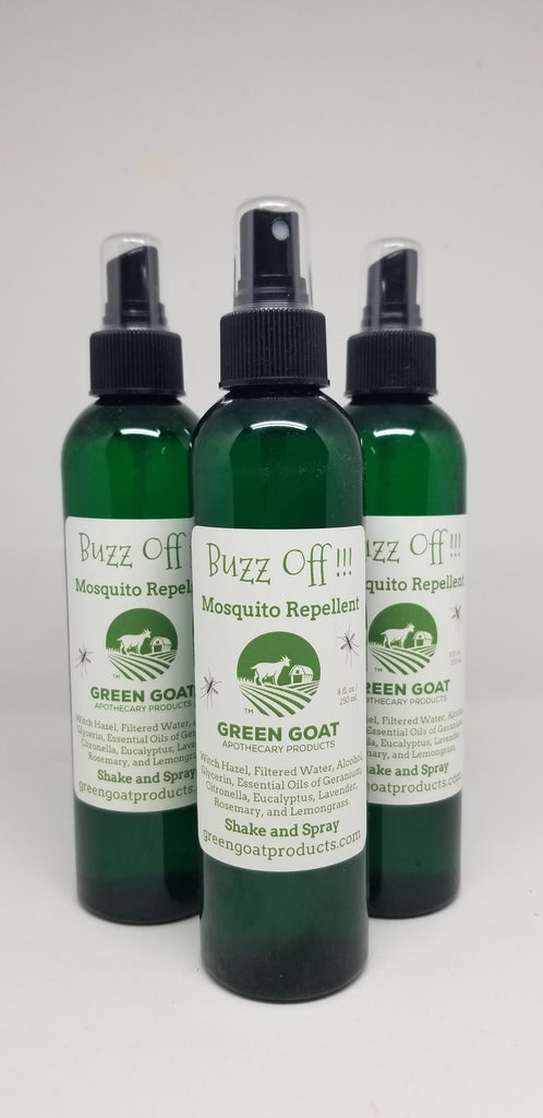 Buzz Off!!!  Mosquito Repellent - Shake and Spray