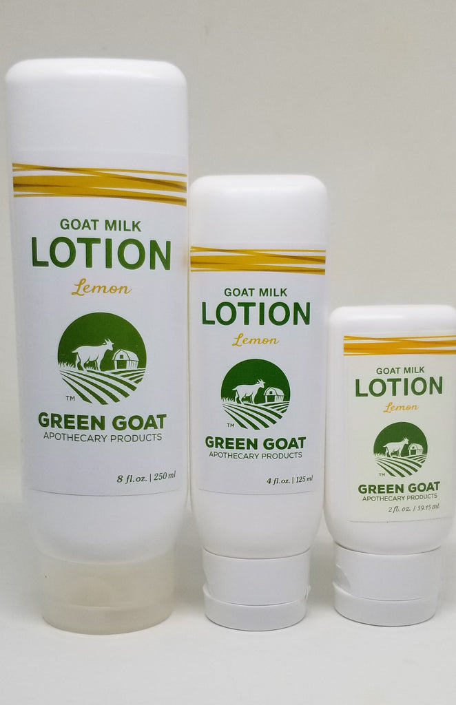 Lemon Goat Milk Lotion