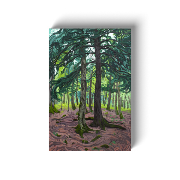 Planting Our Roots Canvas Print
