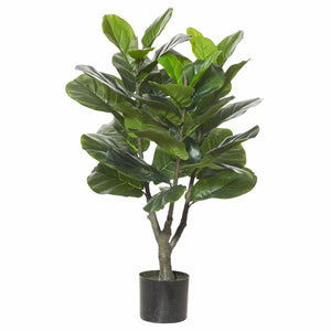 Large Fiddle Leaf Fig Fake Plant