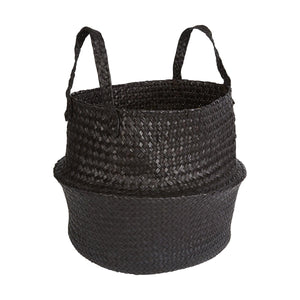 Noir Basket Planter Pot