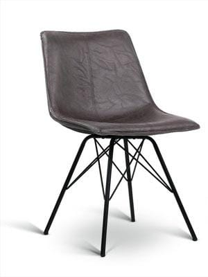 Harvey Leather Dining Chair