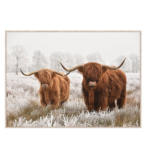 Highland Framed Canvas