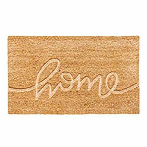 Home Embossed Door Mat