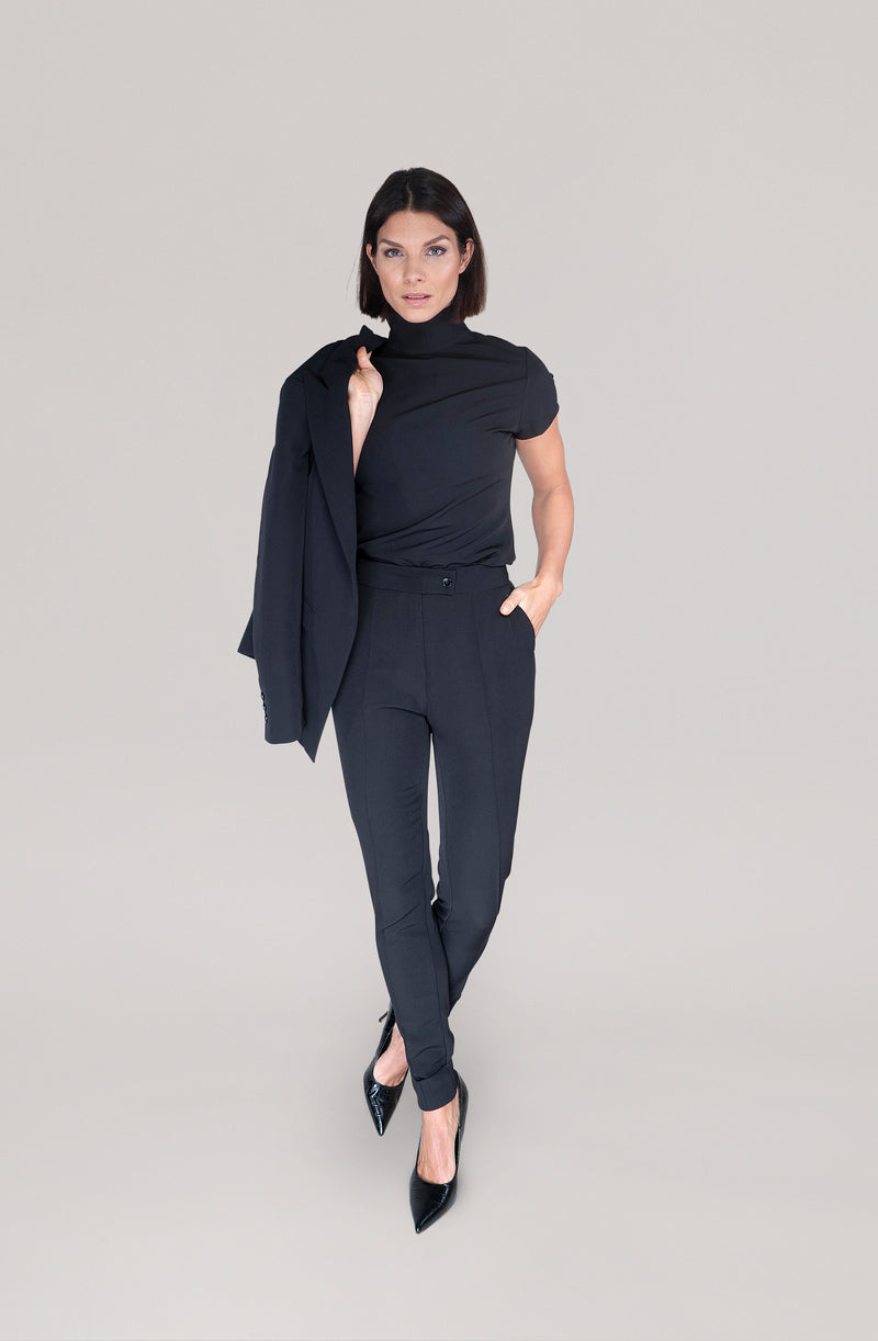 THE TROUSER - black
