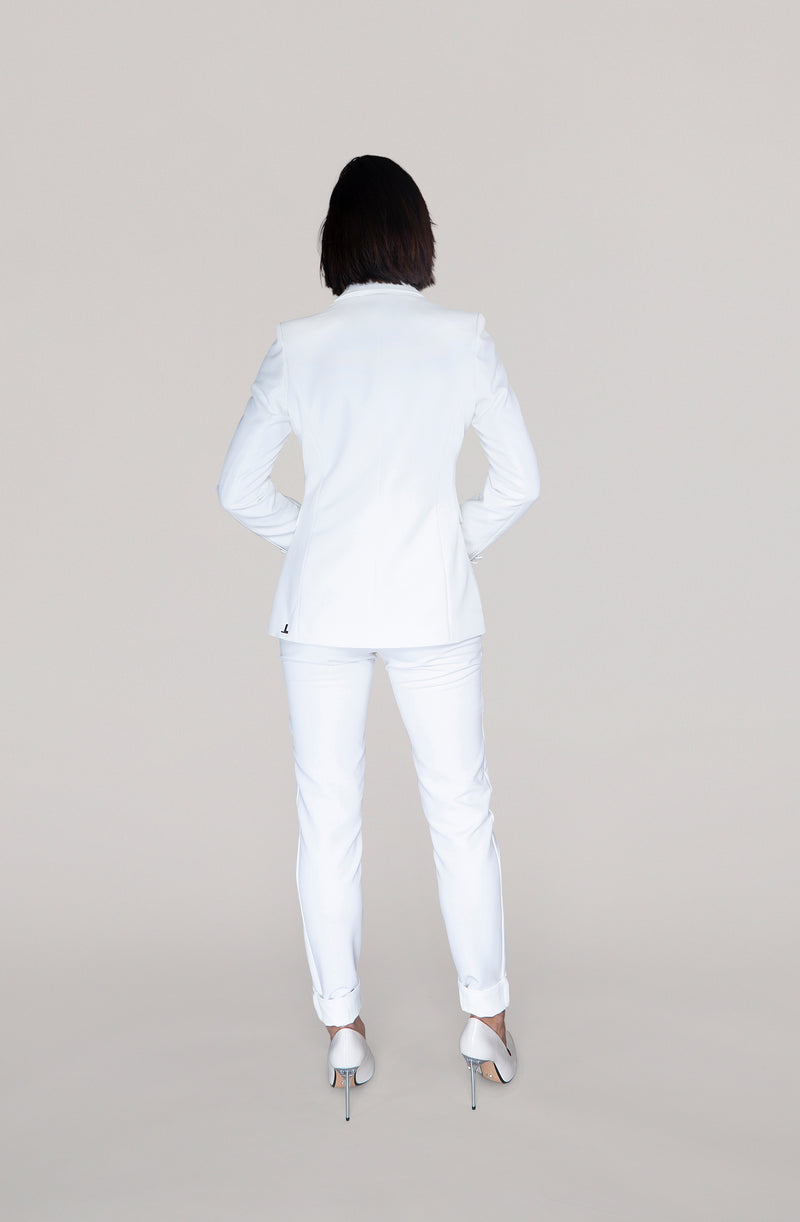 THE TROUSER - off white