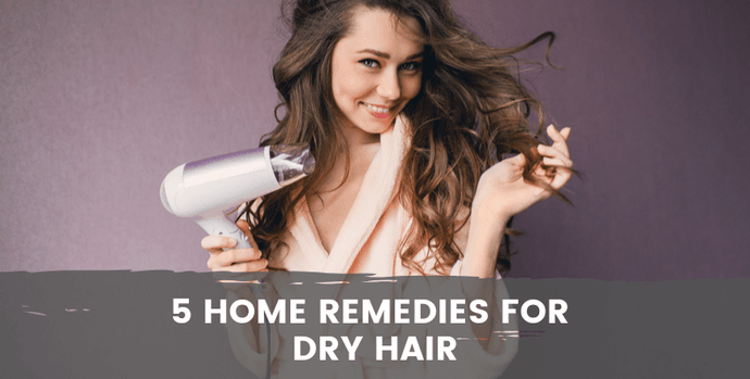 5 Home Remedies For Dry Hair