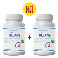 Ultra Cleanz for Body Cleanse - Buy 1 Get 1 Free (2 Months Course)