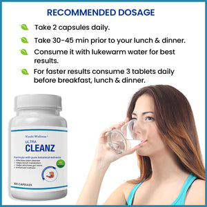 ULTRA CLEANZ FOR BODY CLEANSE - 60 CAPSULES