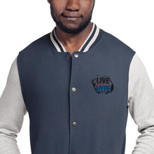 Load image into Gallery viewer, Signature Live Above the Hype Embroidered Champion Bomber Jacket