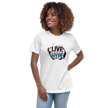 Load image into Gallery viewer, Live Above the Hype Women's Relaxed T-Shirt