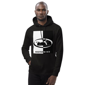 Two-Tone Black & White MASTERMIND Unisex pullover hoodie