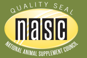 NASC Quality Seal National Animal Supplement Council