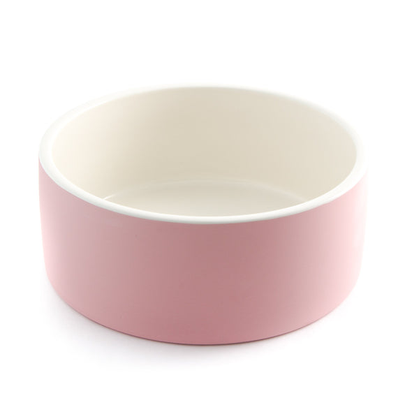 Naturally Cooling Dog Water Bowl ~ Pink - Le Pet Luxe