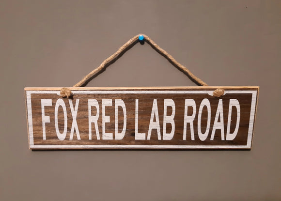 Fox Red Lab Road - Le Pet Luxe