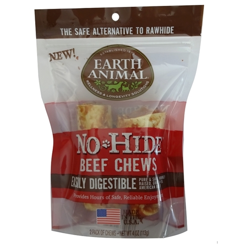 Earth Animal No Hide Beef Chews Dog Treats - le-pet-luxe