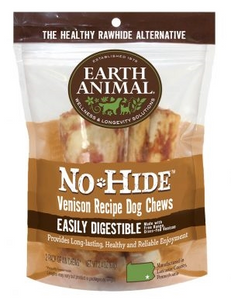 Earth Animal No Hide Venison Dog Chew Treats - Le Pet Luxe