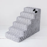 Luxury Pet Stairs - Dove Grey - Le Pet Luxe